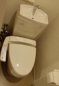 (ファミリーロッジ旅籠屋)洗浄機能付き便座